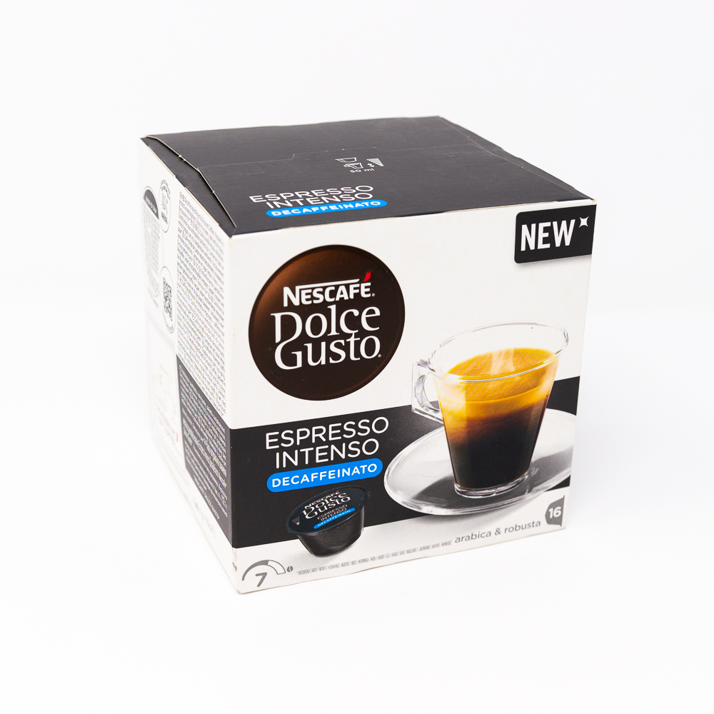 dolce gusto decaffeinato  Nescafè Dolce Gusto - Espresso Intenso Decaffeinato da 16 ...